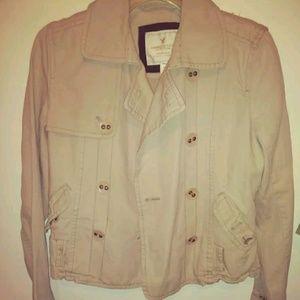 American Eagle cotton khai Jacket size M
